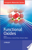 Functional Oxides Book