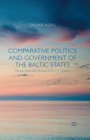 Comparative Politics and Government of the Baltic States [Pdf/ePub] eBook