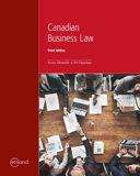 Canadian Business Law PDF