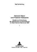 Heinrich Mann und Friedrich Nietzsche