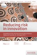 Reducing risk in innovation