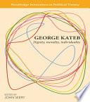 George Kateb Book