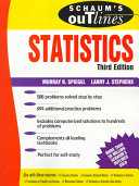 Schaum's Outline of Theory and Problems of Statistics