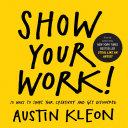 Show Your Work! Pdf/ePub eBook