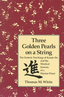 Three Golden Pearls on a String