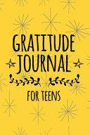 Gratitude Journal for Teens