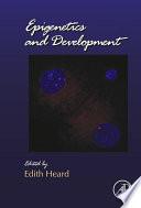 Epigenetics and Development Book