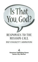 Is That You  God   2000 2001 Adult Reading Book