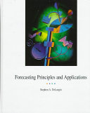 Forecasting Principles and Applications