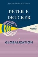 Peter F  Drucker on Globalization
