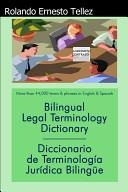 Bilingual Legal Terminology Dictionary