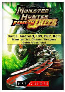 Monster Hunter Freedom Unite Game Android Ios Psp Rom Monster List Cheats Weapons Guide Unofficial