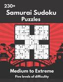 Samurai Sudoku Puzzles