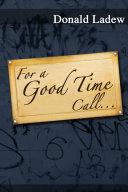 For a Good Time Call . . . Pdf/ePub eBook