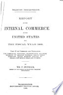 Annual Report and Statements of the Chief of the Bureau of Statistics on the Foreign Commerce and Navigation  Immigration  and Tonnage of the United States for the Fiscal Year Ending     Book