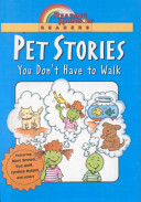 Pet Stories You Don't Have to Walk