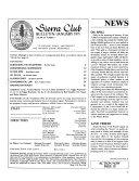 Sierra Club Bulletin