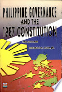 Philippine Governance and the 1987 Constitution