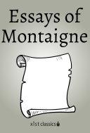 Essays of Montaigne [Pdf/ePub] eBook