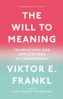 The Will to Meaning Pdf/ePub eBook