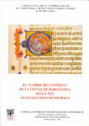 """El """"llibre del consell"""" de la ciutat de Barcelona, segle XIV"""