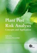 Plant Pest Risk Analysis