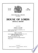 The Parliamentary Debates (Hansard), Official Report, 5th Series