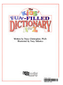 The Kids Fun Filled Dictionary A To Z Book PDF