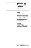 Behavioral and Developmental Pediatrics Book