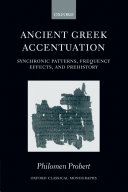 Ancient Greek Accentuation Book