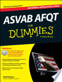 Asvab Afqt For Dummies With Online Practice Tests Book
