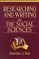 Researching and Writing in the Social Sciences