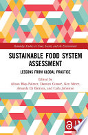 Sustainable Food System Assessment (Open Access)
