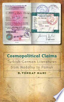 Cosmopolitical Claims Book