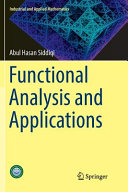 Functional Analysis and Applications Book