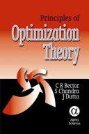 Principles of Optimization Theory