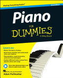 Piano For Dummies  Book   Online Video   Audio Instruction