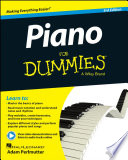 """""""Piano For Dummies, Book + Online Video & Audio Instruction"""" by Hal Leonard Corporation, Adam Perlmutter"""