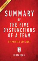 Summary of The Five Dysfunctions of a Team Book