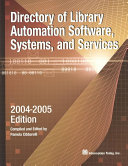 Directory of Library Automation Software  Systems  and Services