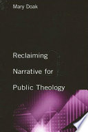 Reclaiming Narrative For Public Theology