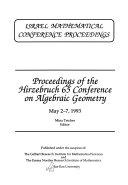 Israel Mathematical Conference Proceedings