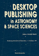 Pdf Desktop Publishing In Astronomy And Space Sciences Telecharger