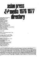 The Asian Press and Media Directory