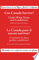 Can Canada Survive
