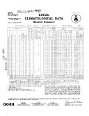 Local Climatological Data Book PDF
