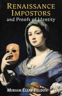 Renaissance Impostors and Proofs of Identity [Pdf/ePub] eBook