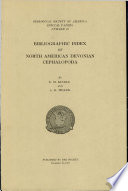 Bibliographic Index Of North American Devonian Cephalopoda