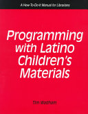 Programming with Latino Children's Materials