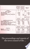 Proceedings of the Council of the City and County of Newcastle upon Tyne